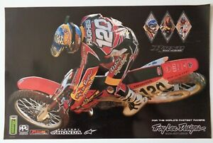 Troy Lee Designs Team Factory Honda Ryan Ryno Hughes Poster Motocross Supercross