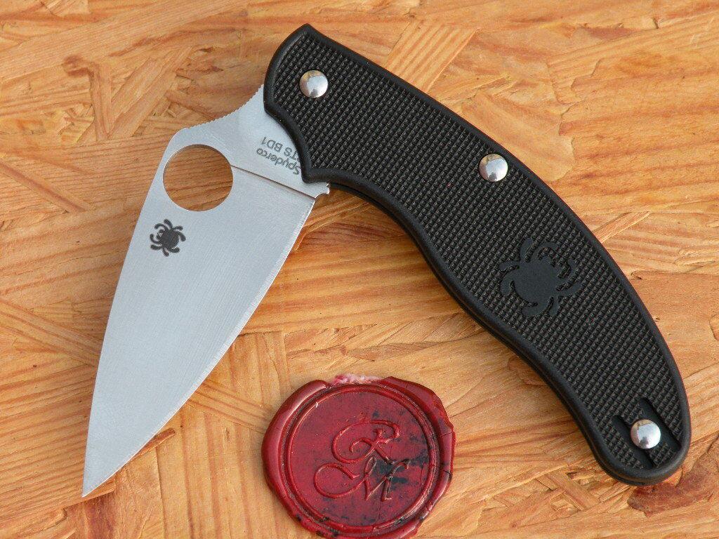 Spyderco C94PBK UK UK UK Penknife LEAF Shape FRN 73170e