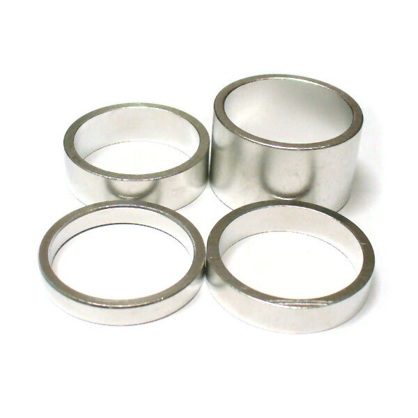 """gobike88 KREX silver alloy spacer 12g//pc 283 for 1-1//8/"""" headset 20mm x 2pcs"""