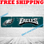 miniature 1 - Philadelphia Eagles Banner Flag 2x8 ft 2020 NFL Fan Club Wall Home Decor NEW
