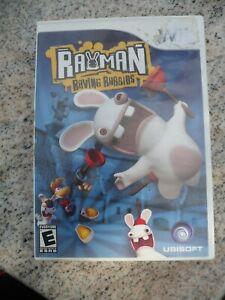 Rayman-Raving-Rabbids-Nintendo-Wii-2006-Video-Game-Complete