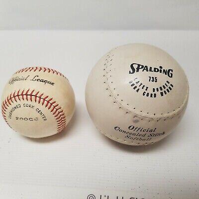 12 Used Hardball Baseballs