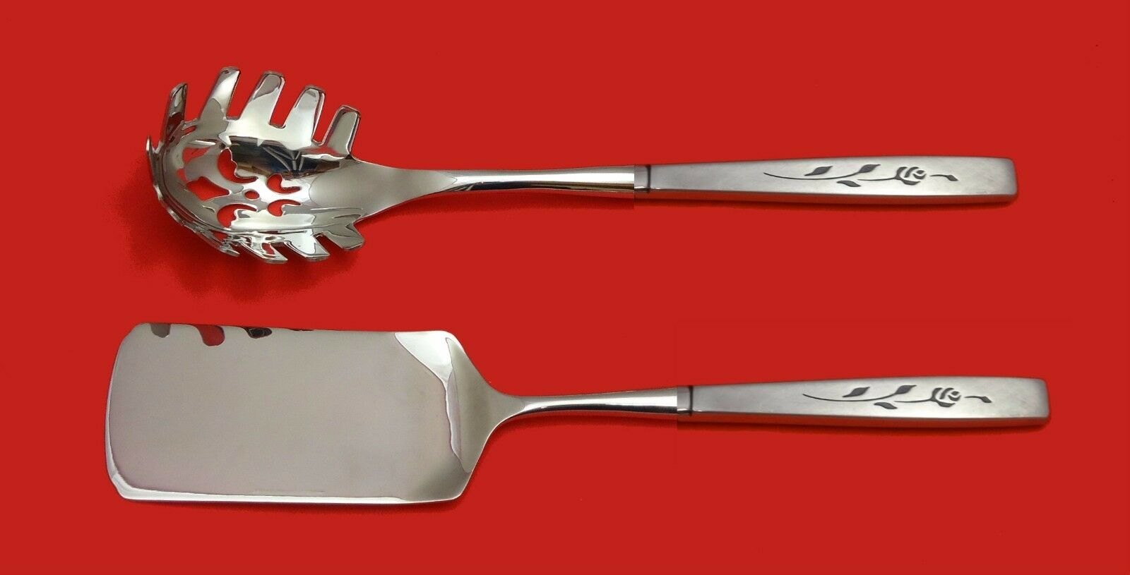 CAPISTRANO ONEIDA STAINLESS STEEL PASTA AND LASAGNA SERVER