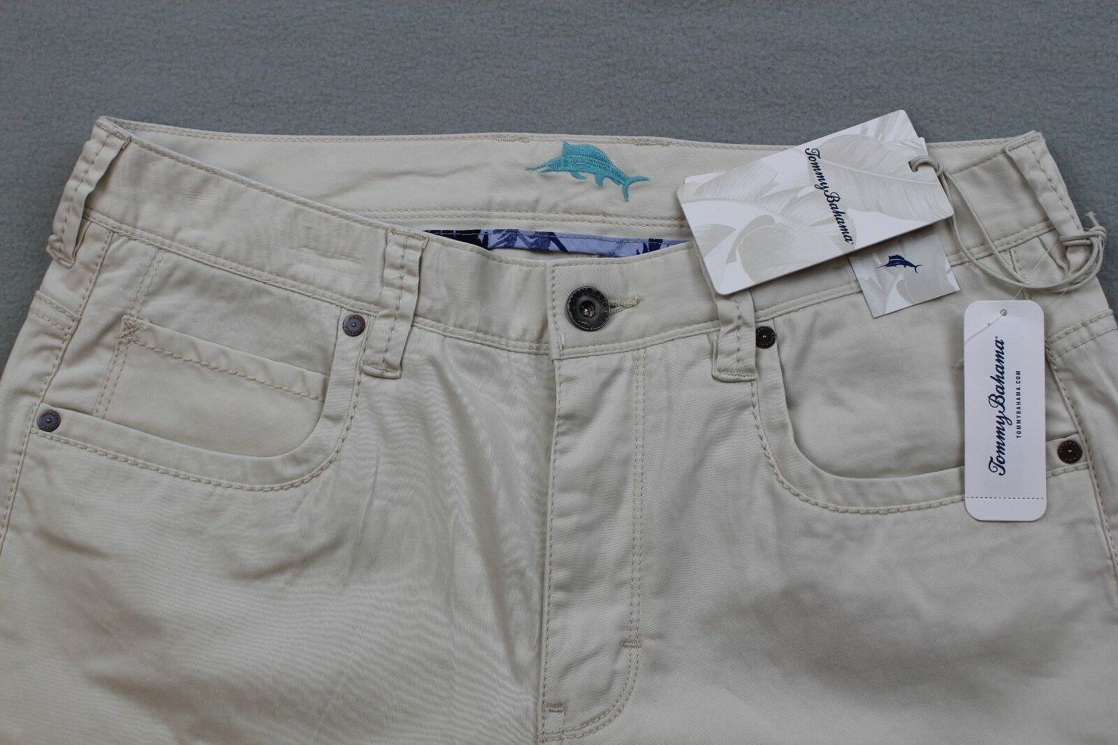 7d8845ea Tommy Bahama Mens Chinos Boracay Vintage Fit Bleached Sand Size 32x34 for  sale online   eBay