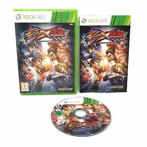 Street Fighter X Tekken | Xbox 360 | Microsoft | sehr guter Zustand | PAL