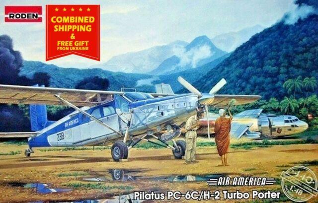 Roden 444 Pilatus PC-6//B1-H2 Turbo-Porter in 1:48