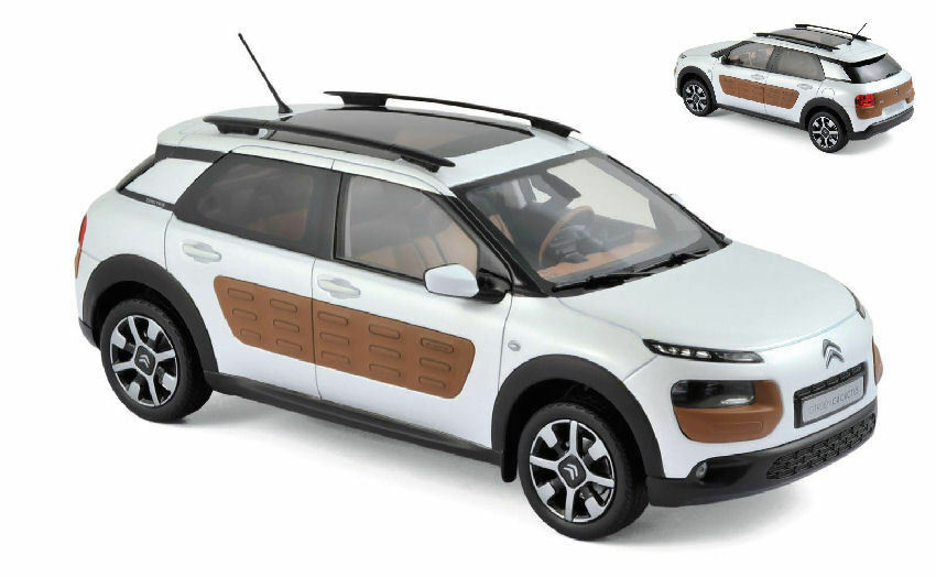 Citroen C4 Cactus 2014 blanc   marron 1 18 Model 181651 NOREV