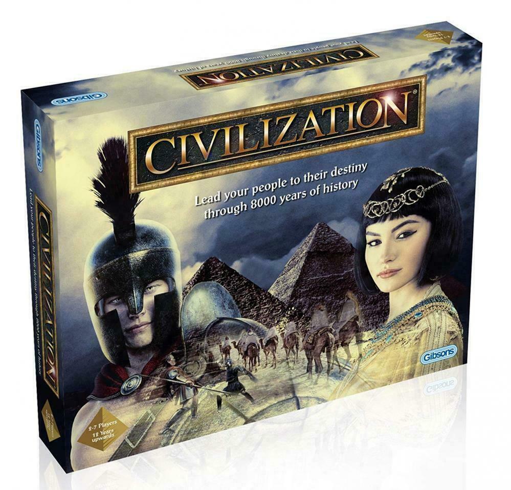 Gibsons civiltà Board Game Nuovo Di Zecca Sigillato