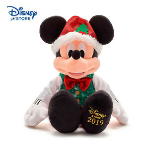 Disney-Topolino-Mickey-Mouse-Holiday-Cheer-2019-43CM-PELUCHE-PLUSH-TOY-NUOVO