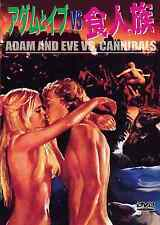 ADAM AND EVE VS CANNIBALS -  Japanese original DVD