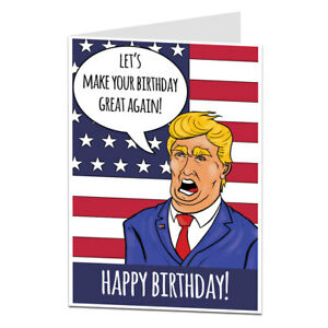 Funny Birthday Card For Men Women Humorous Quirky Cool Unusual Ebay