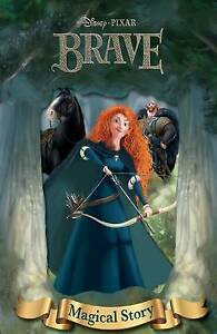 Disney-039-s-Brave-Magical-Story-with-Lenticular-Front-Cover-Disney-Pixar-Brave-D
