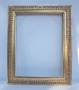 5 Cm. New Fashion Grandes Antiguo Goldrahmen 18.jh 5x63 Madera l14 Exterior 64x80 47