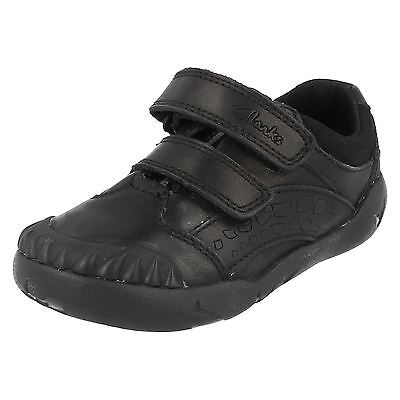 Boys Clarks Infant School Shoes - Raptoboy