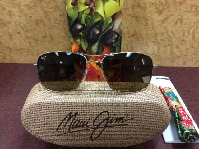 3d6ceabaa5cd maui jim wiki wiki sunglasses HS246-16 Gold With Bronze Lenses for sale  online