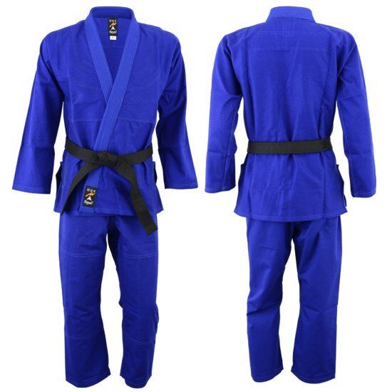 Playwell Pearl Weave BJJ Gi blueee Uniform Martial Arts Ju Jitsu Suit Jiu