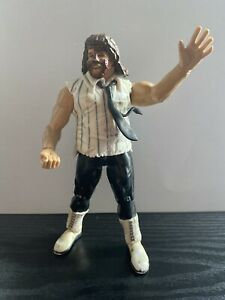 Mankind-WWF-Jakks-Titan-Tron-Live-Wrestling-Figure-WWE-WCW-ECW-Mick-Foley