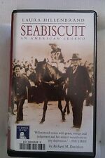 Seabiscuit by Laura Hillenbrand: Unabridged Cassette Audiobook (E4)