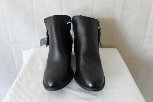 NEW WOMEN BLACK BOOTS SIDE ZIP FASHION FOOTWEAR BRAND SIZE 6 TO 10