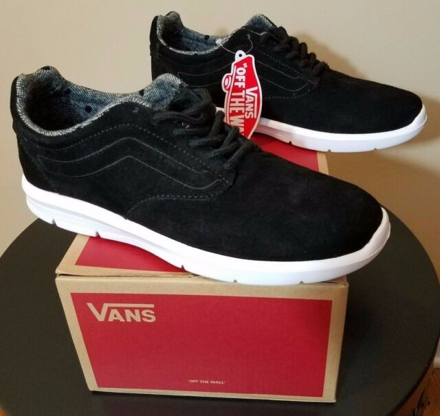 6156674e1e7653 Mens VANS Iso 1.5 Shoes Black Size 7 Tweed Dot Interior Pattern Roshe Polka  Dot