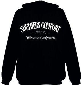 Southern-Comfort-Jumper-Band-Hoodie-Whatever-039-s-Comfortable-Varsity-Jacket