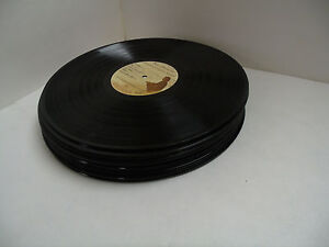 Bulk lot of 10 lp vinyl records arts crafts decor bowl for Bulk arts and crafts