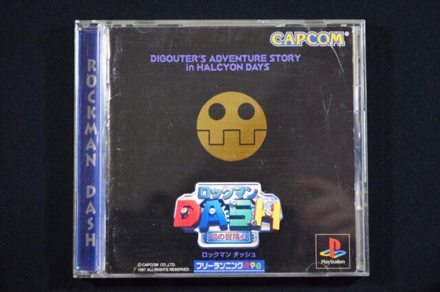Complete Rockman Dash Mega Man Legends PlayStation 1 PS1 Japanese NTSC-J