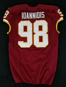 98-Matt-Ioannidis-of-Washington-Redskins-NFL-Locker-Room-Game-Issued-Jersey