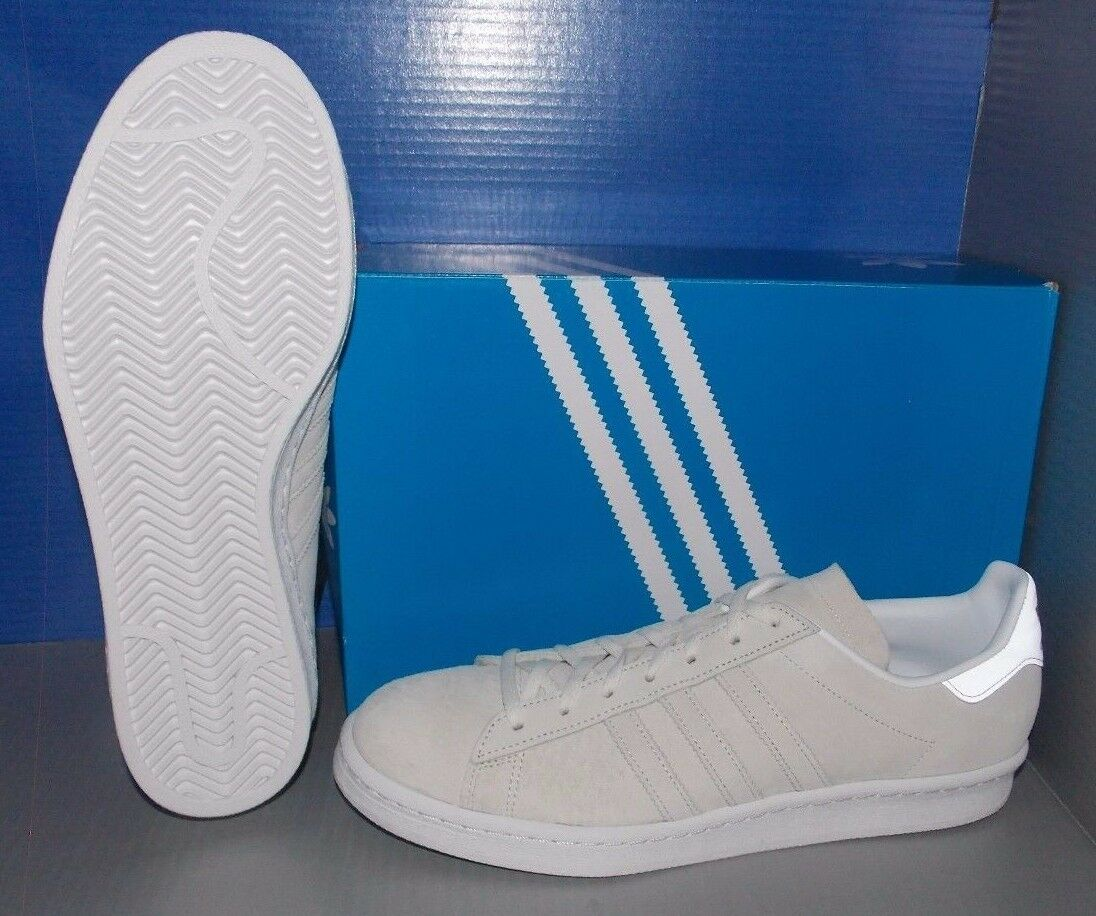 MENS ADIDAS CAMPUS CAMPUS ADIDAS 80S in colors FTW WHITE / FTW WHITE / FTW WHITE SIZE 9.5 671b94