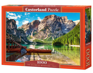 Castorland C-103980-2 - the Dolomites Mountains, Italy, Puzzle 1000 Pieces - New