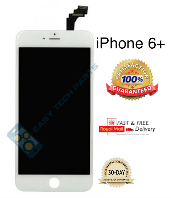 WHITE For iPhone 6 Plus + Genuine OEM Quality LCD Digitizer Screen Replacement