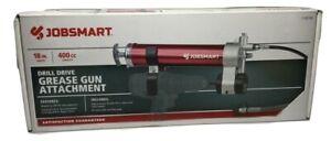 Jobsmart-Grease-Gun-Drill-Drive-Adapter-Universal-Mount-1-4-034-Hex-Cordless-Power