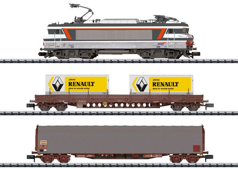 Minitrix N 11142 Digital-Confezione iniziale  treno merci  merce nuova