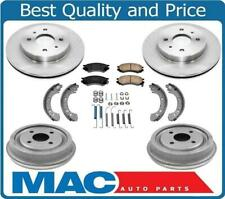 Fits Saturn Sl Sc Sw 91 To 02 Frt Rotors Amp Drums Front Pads Rear Brake Shoes 7pc Fits 1994 Saturn Sl2