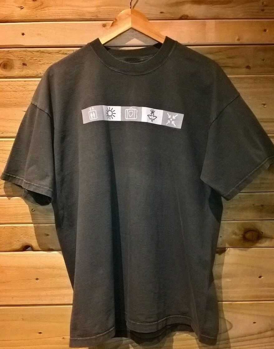 U2 Rare Official Elevation'01 Tour T Shirt - XL -All That You Cant Leave Behind