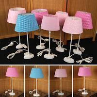 LANDHAUS Tischlampe Vintage Shabby Tischleuchte Lampe Leuchte Cottage Design