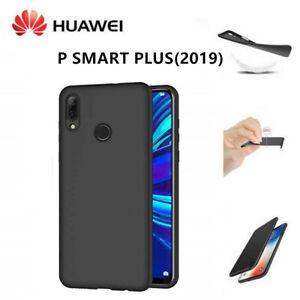 Huawei Custodie Cover In Silicone Nero Morbido Cover Posteriore