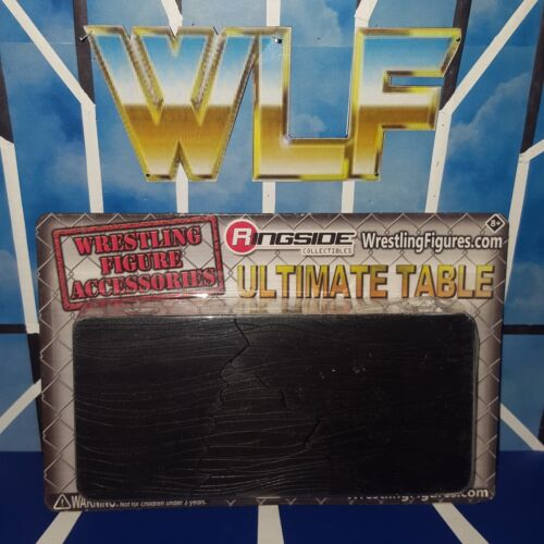 Accessories for WWE Wrestling Figures - RSC Ultimate Table Black