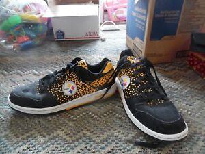 Reebok Pittsburgh Steelers tennis shoes