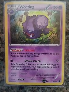 Weezing-XY163-XY-Black-Star-HOLO-Promo-NEAR-MINT-Pokemon-Card