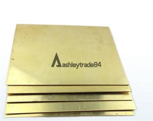 1pcs Brass Metal Sheet Plate 2.5mm x 100mm x 100mm