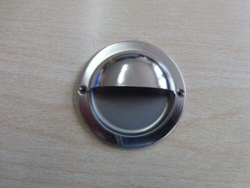 Furniture Handle-Clam Handle Round Iron Matt Nickel Plated