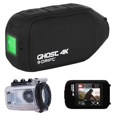 Drift 4K /& Ghost x Casco Moto d/'Azione Macchina Fotografica Time Lapse