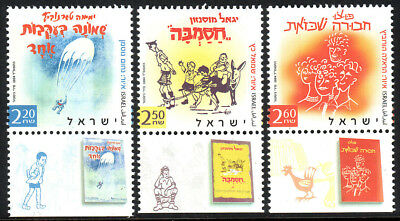 Postfrisch Adventure Stories 2004 Israel 1573-1575 Reiter