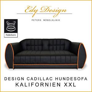 DIVANO PER CANI CALIFORNIA XXL DIVANO LETTO CANE CADILLAC design con ...