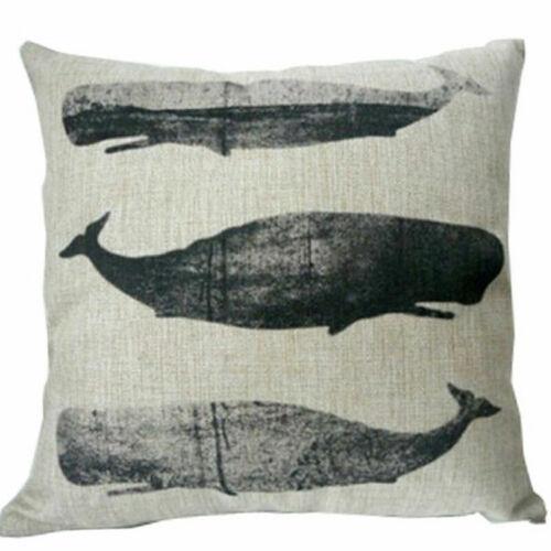 Pillow Case Car Sofa Bed Waist Throw Cushion Cover Home Decoration Cotton Linen