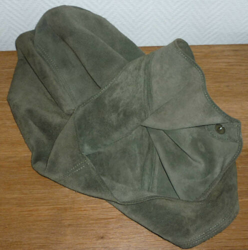 Italy genuine De Sombre Croute Made Vert Neuf Besace Leather In Cuir Superbe qFHzCw