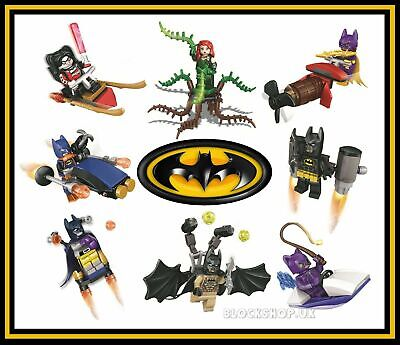 VEHICLES fits lego figure BLOCKS NEW BATMAN MOVIE x8 FIGURE SET