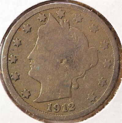 1912-D Liberty Nickel #20401912-D