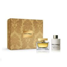 DOLCE & GABBANA THE ONE 50ML EDP SPRAY+100ML  PERFUMED BODY LOTION GIFT SET NEW